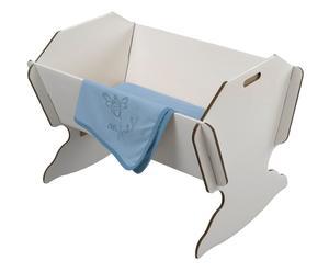 Culla in cartone Cradle bianca - 85x62x62 cm
