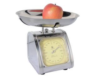 Bilancia pesavivande in acciaio inox - portata: da 10 g a 2 kg