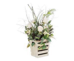 Cassetta fiorita jardiniere - 43x66x36 cm