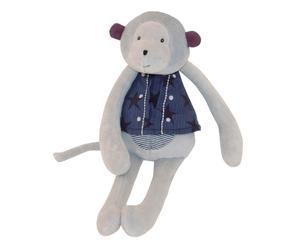 Peluche in misto cotone monkey multicolor - 0 + mesi