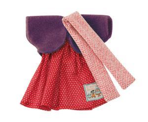 Completino per bambole in cotone e lana princess