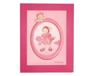 Cornice portafoto in legno dancer rosa - 16x21 cm