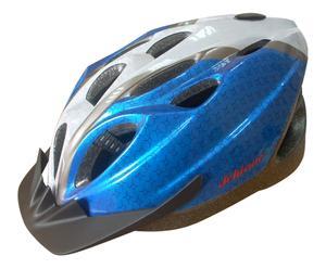 Casco bici adulto regolabile blu - Taglia M