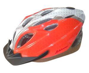 Casco bici adulto regolabile rosso - Taglia M
