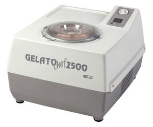 gelatiera professionale a compressore GELATO CHEF 2500 PLUS - bianco