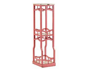 Fioriera in legno Gian rosa p. unico - 95x94x24 cm