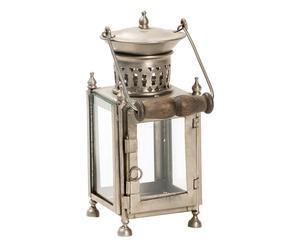 Lanterna da tavolo in metallo - 10x22x10 cm
