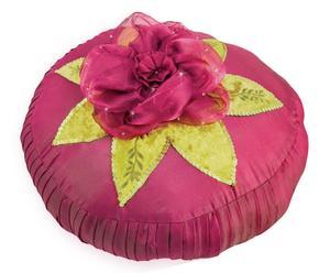 Cuscino in taffeta' di seta felicita' - d 28 cm