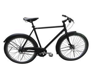 Bicicletta da citta' con cambio shimano URBAN 28'' - nero opaco