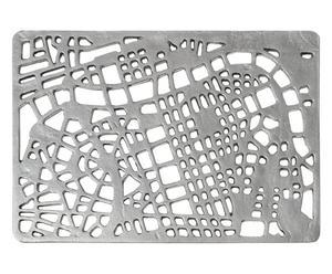 ZERBINO IN GHISA IRON MAT map  -  50x70 cm
