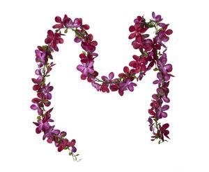 Ghirlanda decorativa Orchidee rosa - l 185 cm