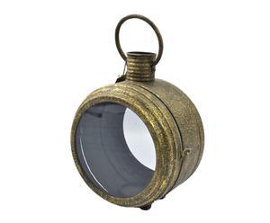 lanterna in ferro Montgomery - 31x39x22 cm