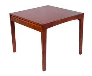 tavolo allungabile in legno tinto noce giulia - max 180x90x75 cm