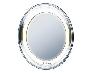 Specchio cosmetico illuminato Elle Fce79