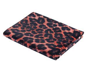 Asciugamo in velluto di cotone leopard - 102x178 cm