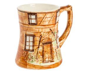 Boccale in ceramica Cottage - 12x10 cm