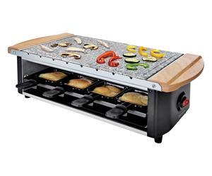 Set raclette con pietra grill 1200w - 51x25x17 cm