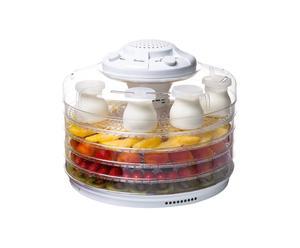Essiccatore e yogurtiera in pvc - 33x33x25 cm