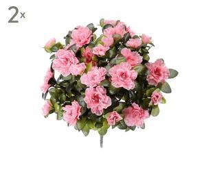 Set di 2 bouquet decorativi Azalea - d 40 cm