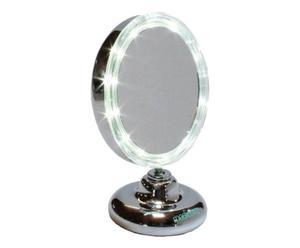 Specchio con luce 5x Ardes M316 - d 13 cm