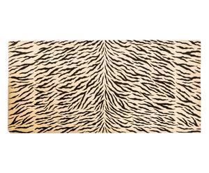 Tappeto misto lana Zebra - 253x112 cm