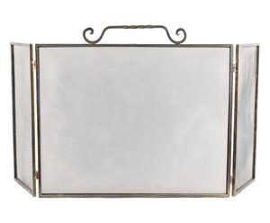 Parascintille in metallo e vetro Galizia - 74x62x27 cm