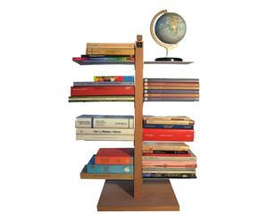 Libreria a colonna in faggio Zia Bice naturale - 30x66x30 cm
