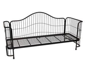 Struttura divano letto singolo in ferro Vintage - 206x76x100 cm