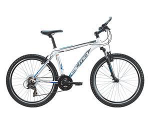Mountain Bike Oasi 26\'\' 21V bianco e blu - Telaio 48
