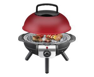 Barbecue elettrico 1000w - 757782 rosso