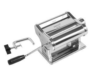 Macchina per pasta manuale in acciaio MM150 cromo - 34x13x18 cm