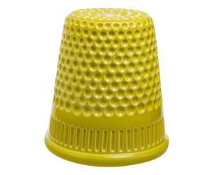 Vaso in ceramica inDITO limone - 21x18 cm