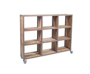 Libreria in legno Bruket