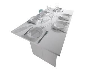 Tavolo-consolle pieghevole in melamina Ado - max 120x75x70 cm