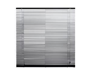 Veneziana in alluminio 16 Claire nero - larghezza 60 cm