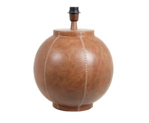 Base per lampada da tavolo in pelle Rugby - 36x38 cm