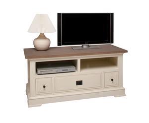 mobiletto porta TV in legno York - 120x50x55 cm