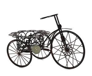 Fiorera in metallo Triciclo nera - 43x25x29 cm