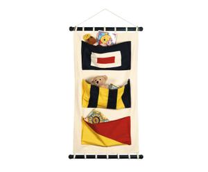Storage-Segeltuch Canvas Flag Pockets, 3 Taschen