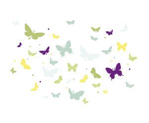 Wanddecoratie - Vlinders