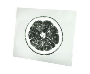 Keukenpaneel Lemon, glas, 50 x 60 cm