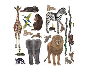 Wandsticker-Set JUNGLE