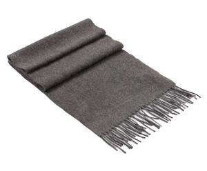 Kasjmieren sjaal Charles, antraciet