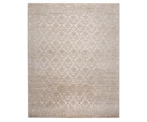 Handgeknüpfter Teppich Jabu Silk Rib Eye, 250 x 300 cm