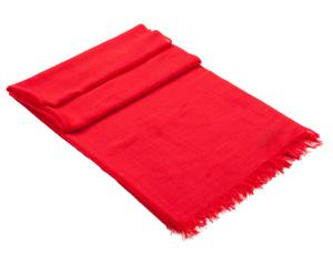 Kasjmier sjaal, rood