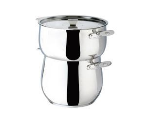 Couscous-steamerset CHAUDRON, 3-delig