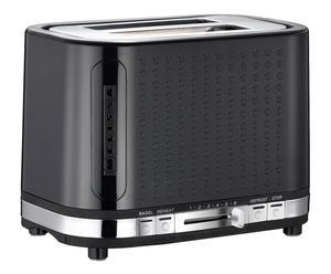 Toaster, DOTS, zwart