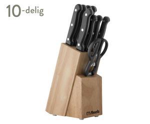 Messenblok-Set STRATUS, 10-delig