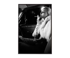 Handgesigneerde, ingelijste kunstfoto Diva, 90 x 60 cm