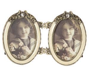Dubbele fotolijst Nimes, B 14 cm
